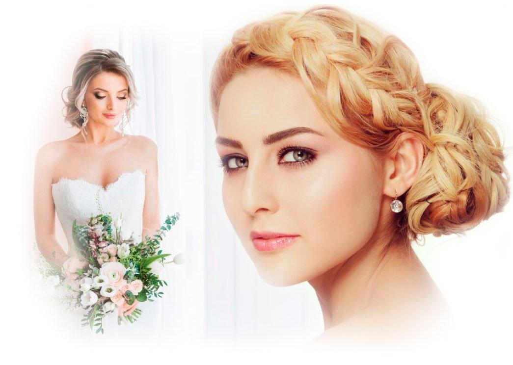 Макияж и прически для невест Хайфа - Крайот \ Свадебный салон Кирьят Бялик \ Салон невест в Израиле - причёски и макияж для невест