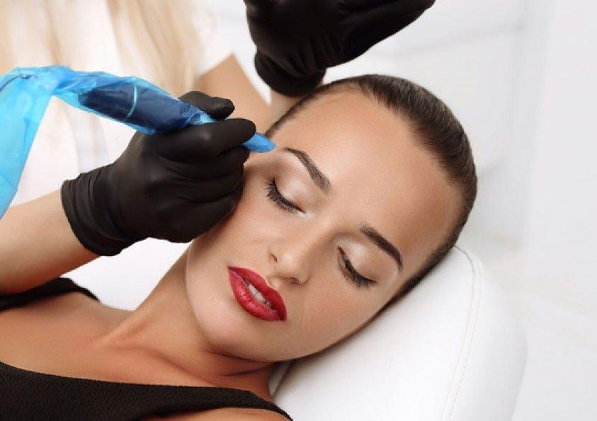 Перманентный макияж, татуаж бровей Кирьят Бялик - Израиль