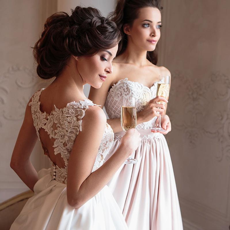 Салон невест в Израиле - причёски м макияж
