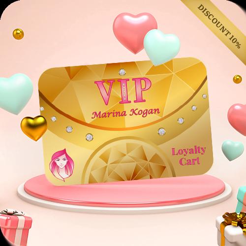Скидки на день рождения в элитном салоне красоты Marina Kogan в Хайфа Крайот