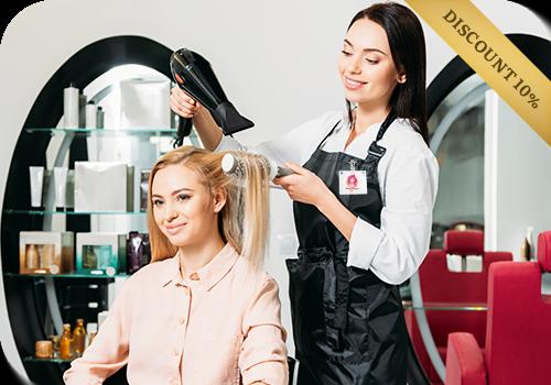 Абонемент на окрашивание волос без оплаты вперед VIP Club в салоне Marina Kogan - Киртят Бялик - Кирьят Моцкин